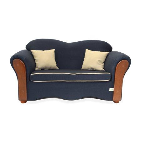 Keet Homey Vip Organic Children S Sofa Navy Blue