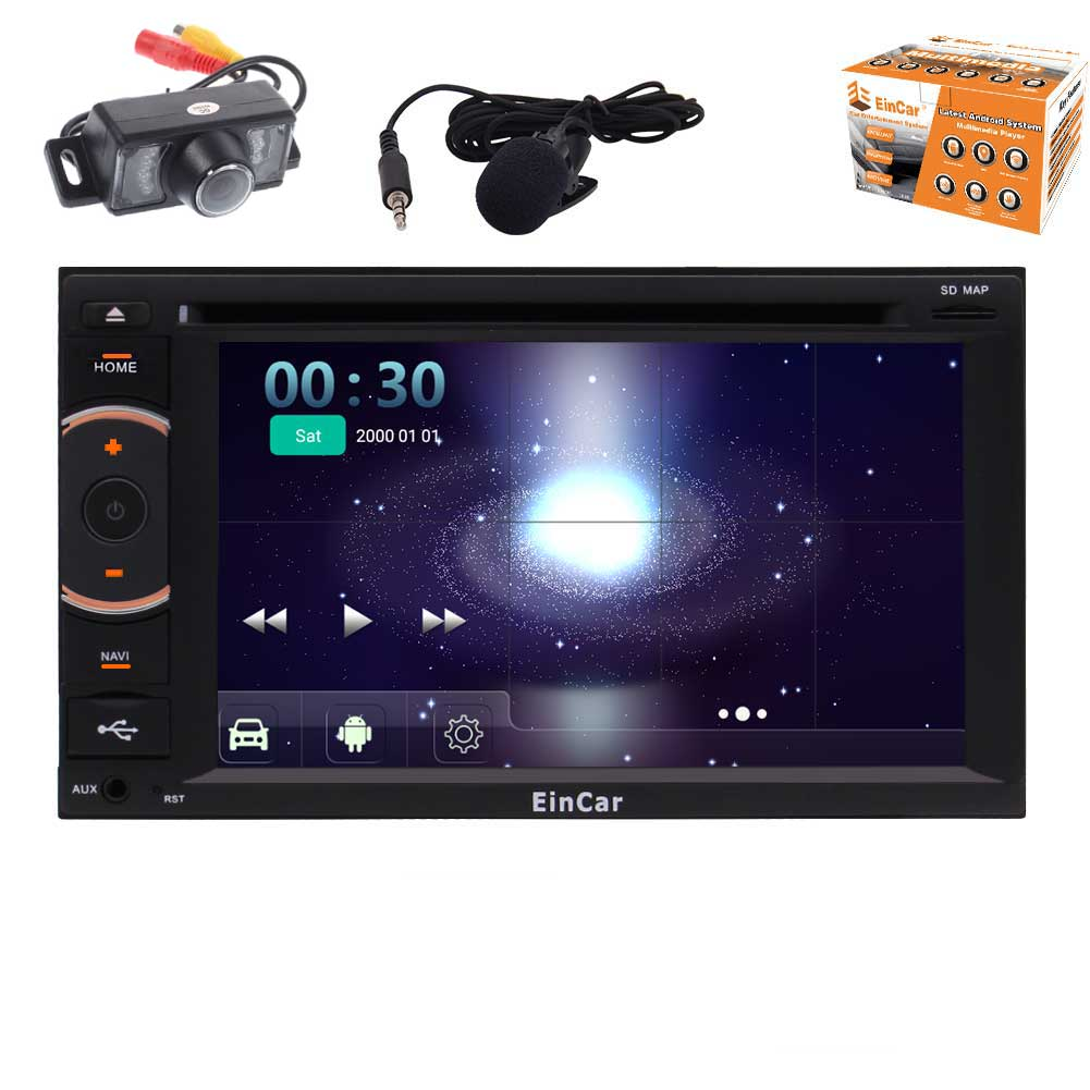 New Developed Android 5.1 Car Stereo with Octa-Core Double Din 6.2'' Touchscreen Car DVD Player 1080P Video In... by EinCar
