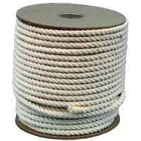 Wellington-Cordage ``Pioneer'' 11285 1/2In Cotton Rope (Surveyors Rope)