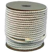 Wellington-Cordage ``Pioneer'' 11285 1/2In Cotton Rope 300Ft