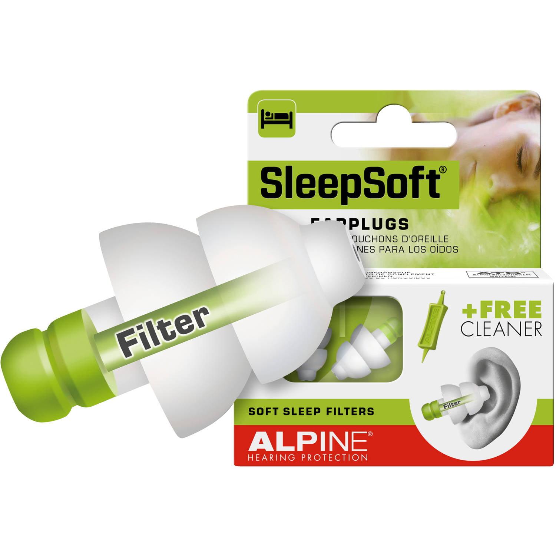 Alpine SleepSoft Earplugs, 1 pr