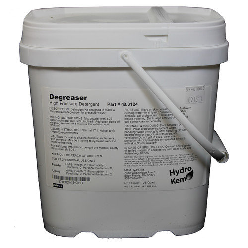 MTM Hydro HydroKem Pressure Washing Chemical Degreaser Pail Pack