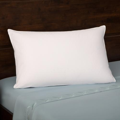 Grandeur Collection  330 Thread Count Cotton Luxe White Goose Down Pillow