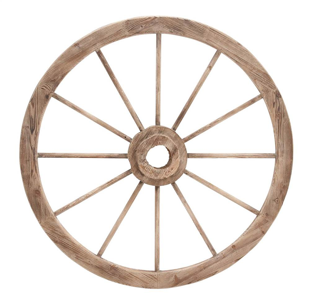 50 in. Wagon Wheel