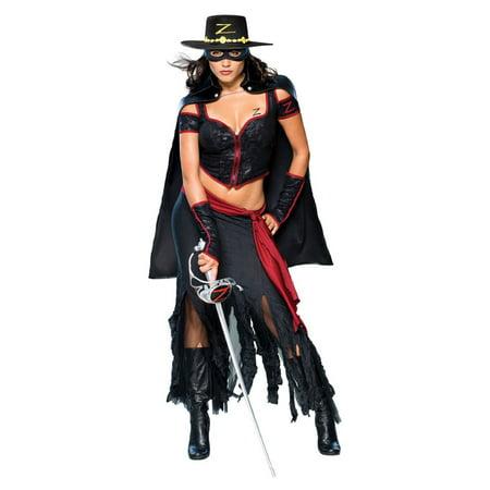 Adult Lady Zorro Costume Rubies 888655](Zorro Custome)