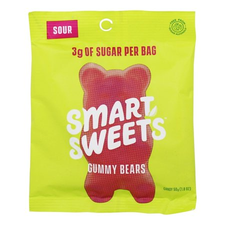 Smart Sweets Sour Gummy Bears, 1.8 oz - Keto-Friendly!