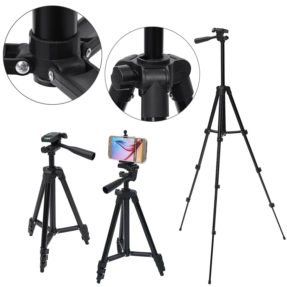 Universal Professional Aluminum Telescopic Camera Tripod Stand Holder