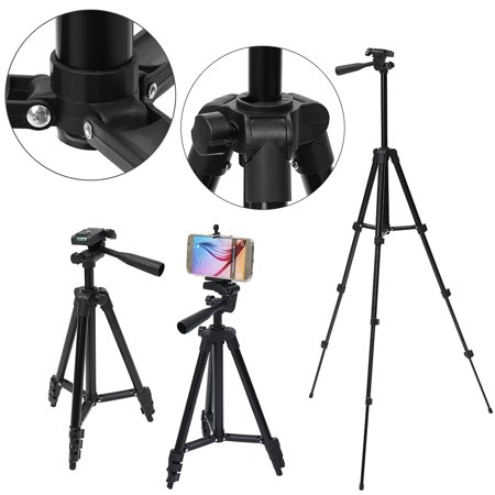 Universal Telescopic Camera Tripod Stand Holder Mount Portable Extendable