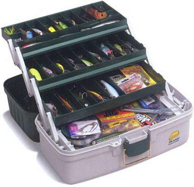 Three-Tray Tackle Box by Plano Molding
