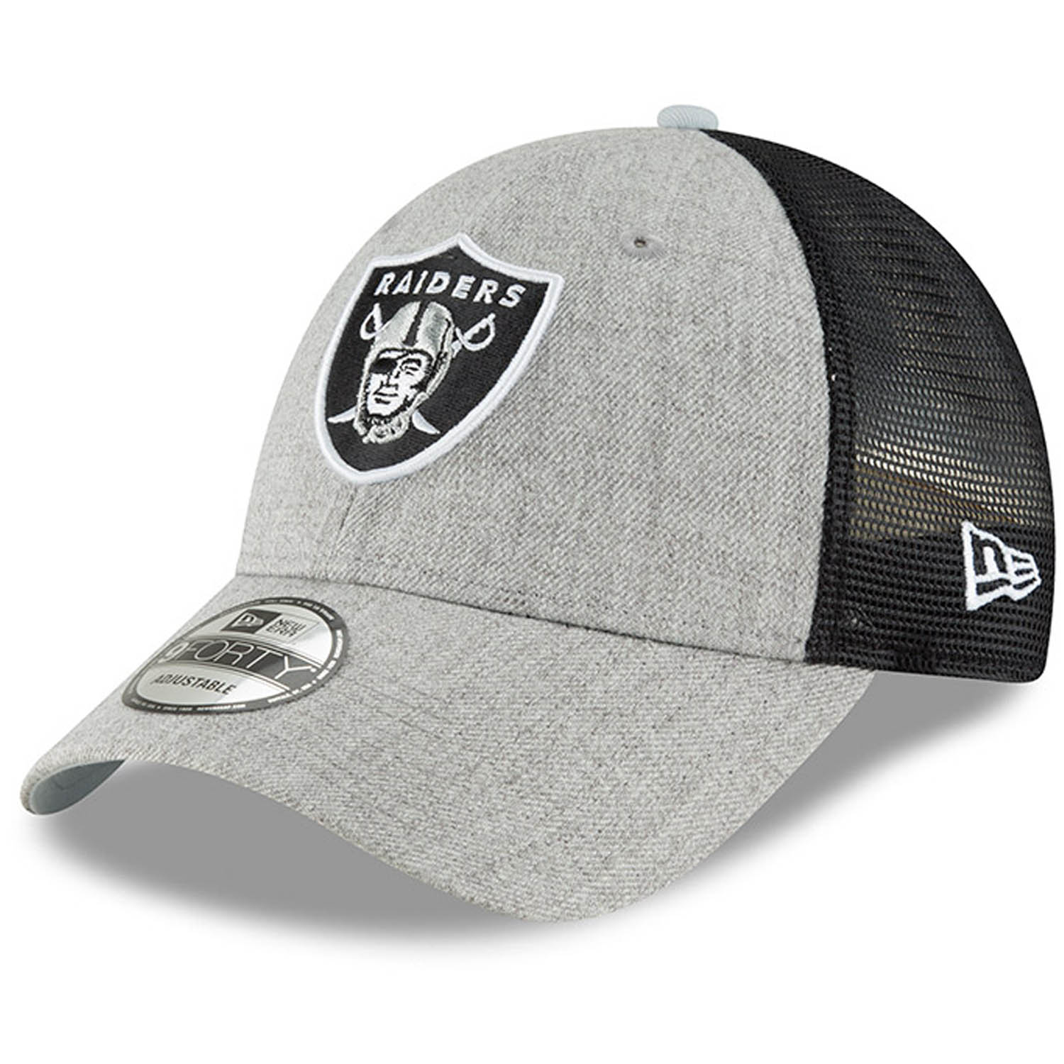 best prices classic shoes best selling Las Vegas Raiders New Era Turn 9FORTY Adjustable Snapback Hat ...