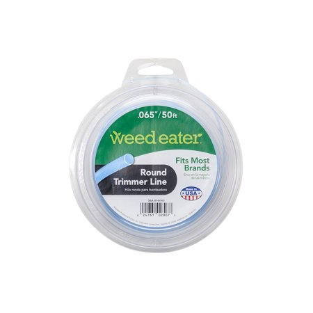 Weed Eater .065x50 Round Replacement String Trimmer Line