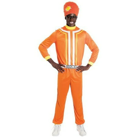 Paper Halloween Costumes (Paper Magic Men's Yo Gabba Gabba Dj Lance Costume)