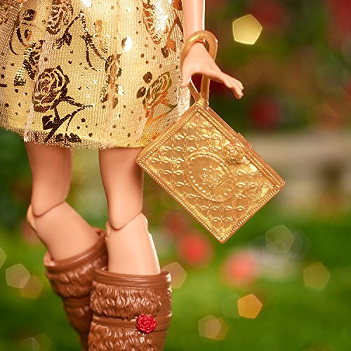 Ever After High First Chapter Rosabella Beauty Replacement Purse Clutch Gold