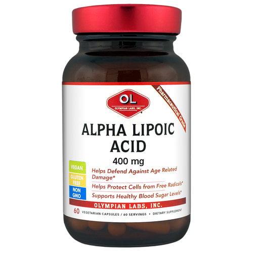 Olympian Labs-Alpha Lipoic Acid, 400mg 60ct