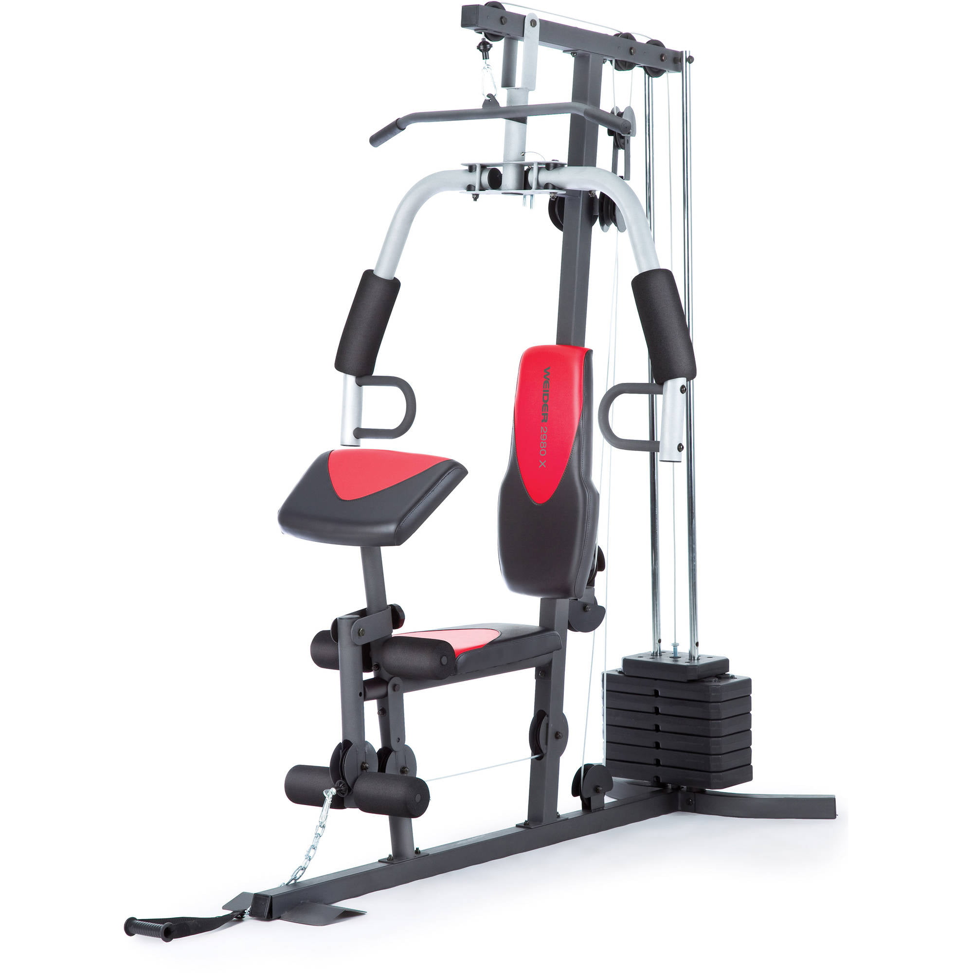 Weider  Home Gym With  Lbs Of Resistance Walmartcom - Home gym equipment for sale