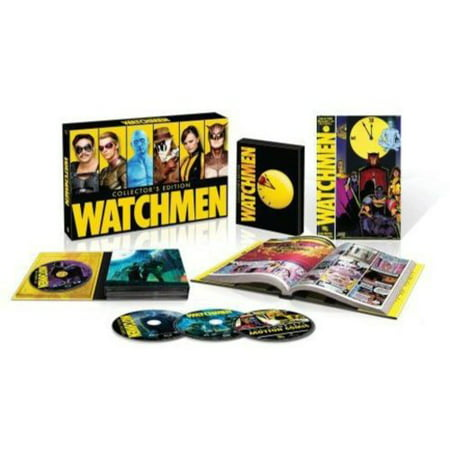 Watchmen: Collector's Edition (Blu-ray + UltraViolet + Graphic Novel) (Widescreen)