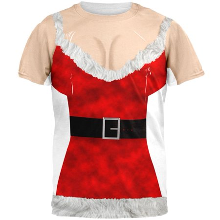 Mrs Claus Skirt (Sexy Mrs. Claus All Over Adult)