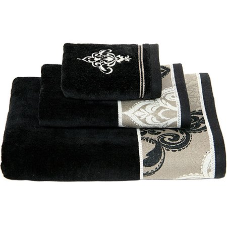 Better Homes And Gardens Traditional Medallion 3pc Towel Set