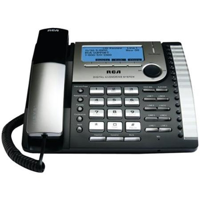RCA 25825 8-Line Corded Expansion Desk Phone