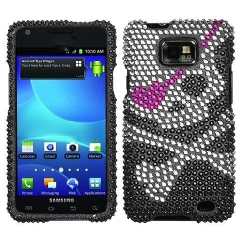 Insten Skull Diamante Case for SAMSUNG: I777 (Galaxy S II)