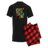 CafePress - Marvel Loki And Thor - Men's Dark Pajamas