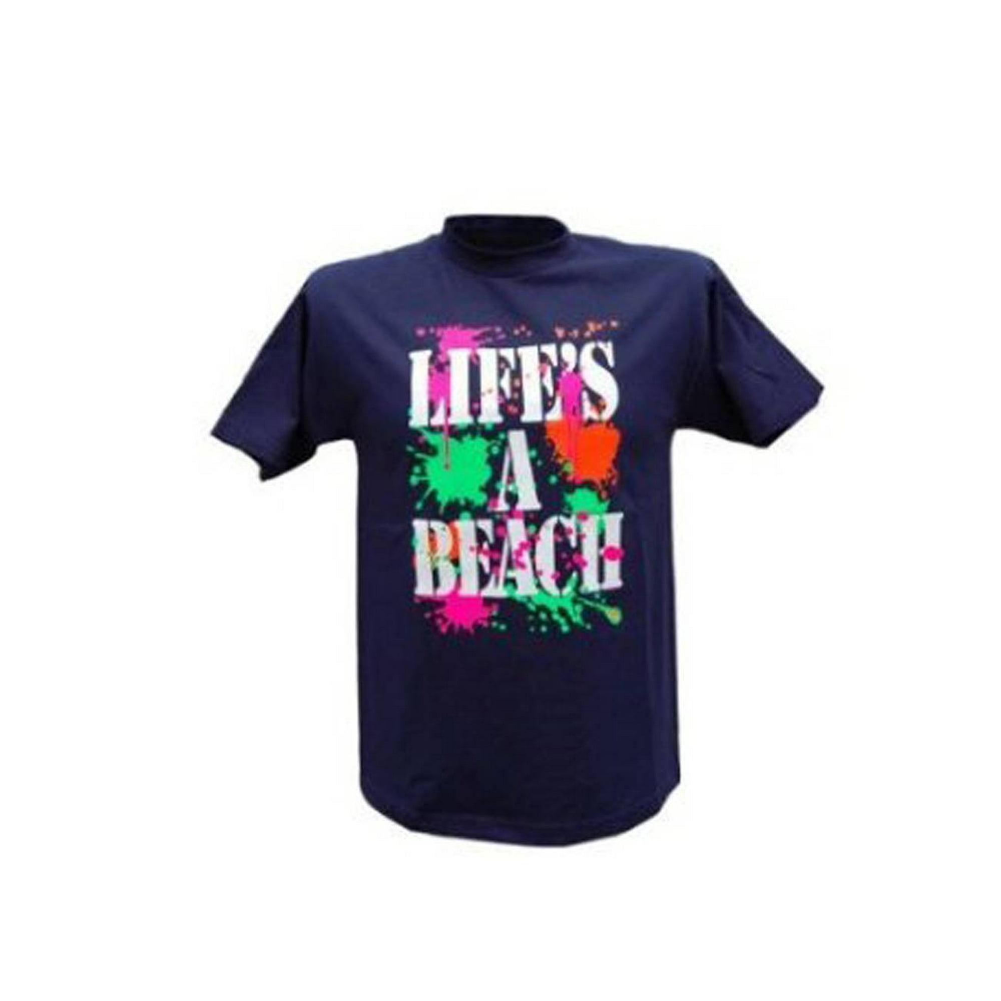 5ed2450fecfc Life's a Beach T-Shirt, L | Walmart Canada