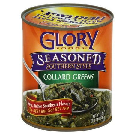 Glory Foods Collard Greens, 27 Oz (Pack of 12) (Best Way To Cook Frozen Collard Greens)