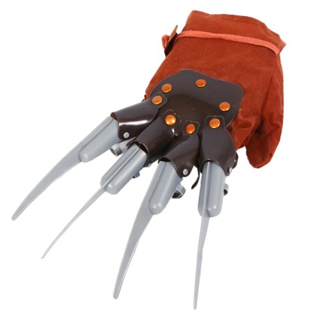 1pc Licensed Freddy Kruger Costume Gloves Halloween Costumes Masquerade Party Scary Toy Supplies Decor Accessory - image 1 de 6