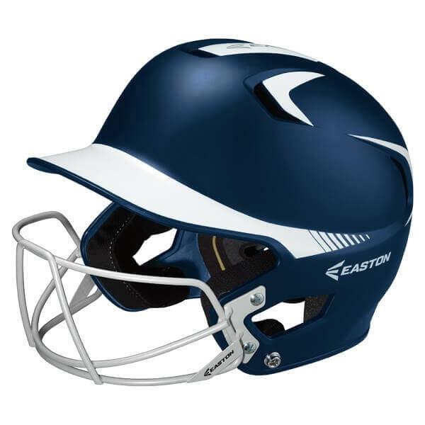 Easton Z5 Grip Two Tone Junior Batting Helmet with Mask