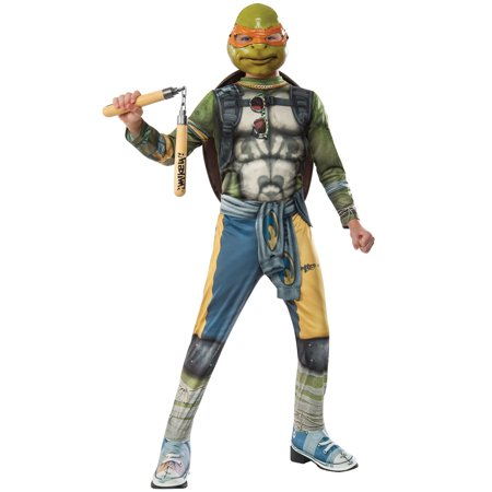 TMNT 2 Michelangelo Child Costume - Tmnt Costume Kids