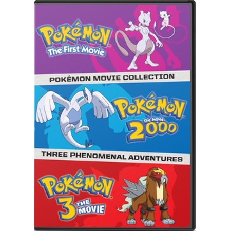 Pokemon: The First Three Movies (DVD)