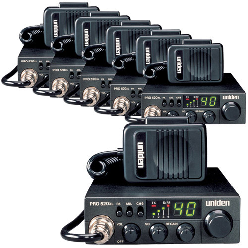 Uniden PRO520Xl 7W 40-Channel Compact CB Radio by Uniden