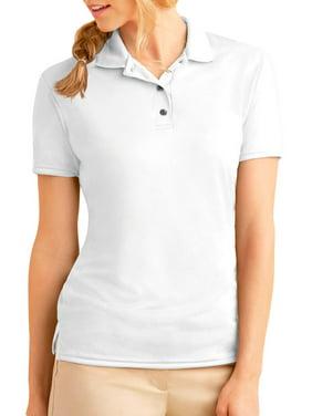1f022990c Product Image Gildan 44800L Women s Jersey Polo Shirt -White-Small