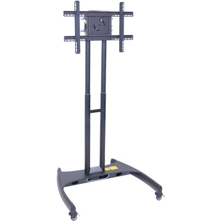 Luxor Adjustable Height TV Stand and Mount, Black