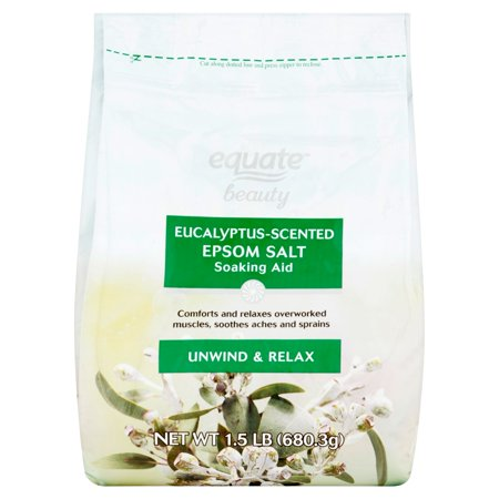 Equate Beauty Eucalyptus Scented Epsom Salt Soaking Aid  1 5 Lb