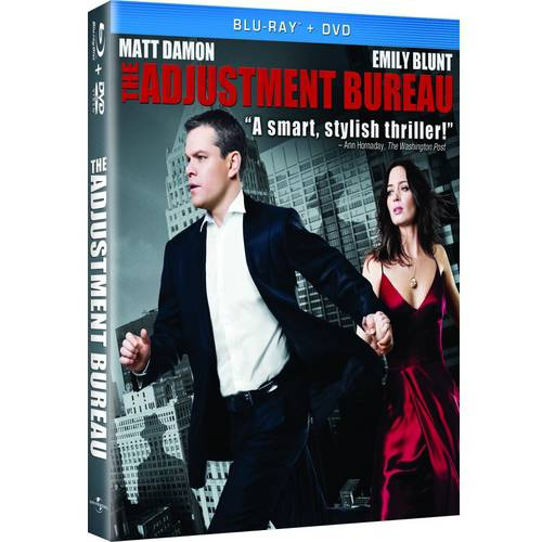 The Adjustment Bureau (Blu-ray   DVD) (With INSTAWATCH)