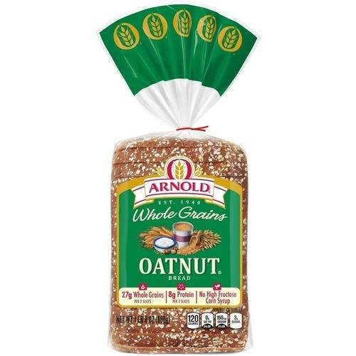 Arnold Whole Grains Oatnut Bread, 24 oz