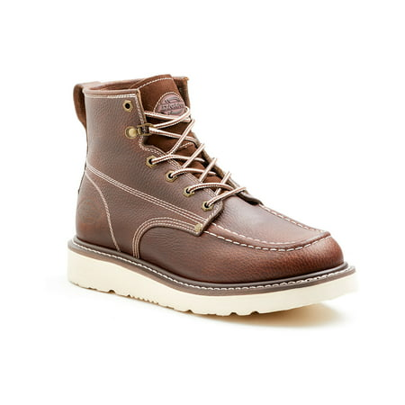 Dickies Men's Trader Genuine Leather Work Boots - Red Oak 7