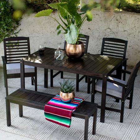 Coral Coast Milany Wood Patio Dining Set ()