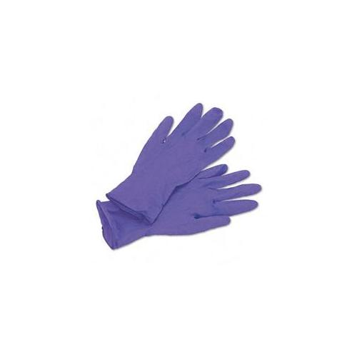 Kimberly-Clark 55081 Disposable Nitrile Exam Gloves  Small  Purple  100 per Box