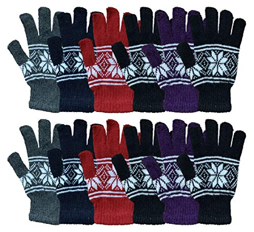 Wholesale Bulk Winter Gloves For Men Woman Bulk Pack Warm Winter Thermal Gloves