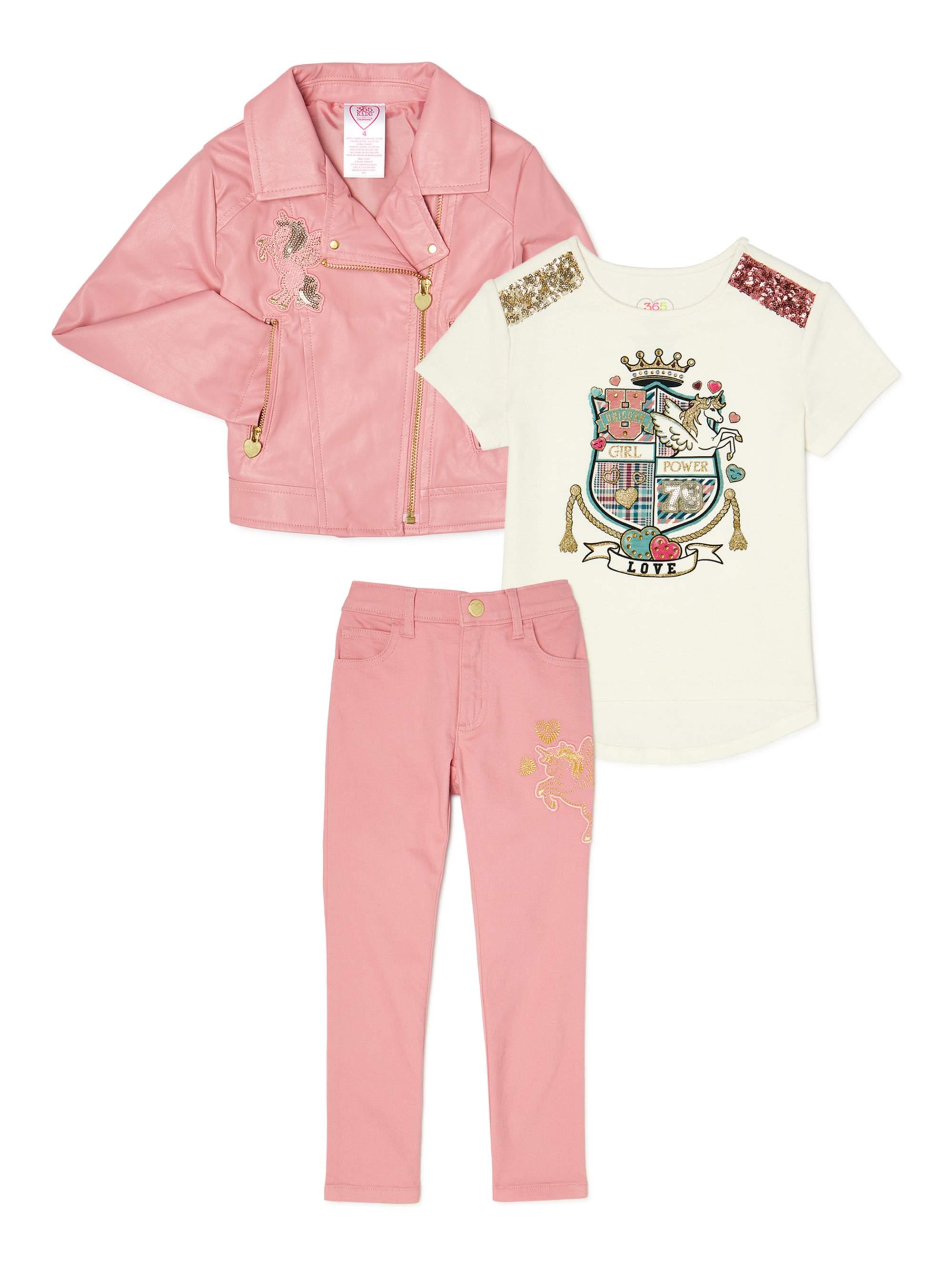 New Garanimals Girls long sleeve T-shirt tee cute graphic cat dog bear butterfly