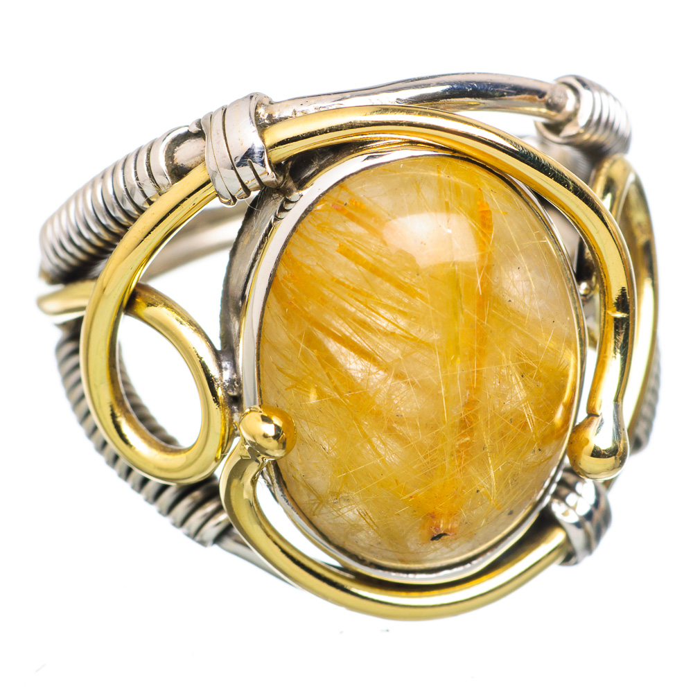 Ana Silver Co Rutilated Quartz 925 Sterling Silver Ring Size 6.5 RING825425