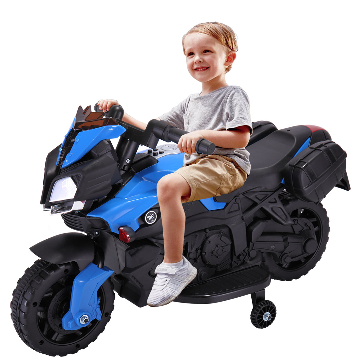 6V Kids Ride On Motorcycle Car Battery Powered 4 Wheel Bicycle Electric Toy by Jaxpety
