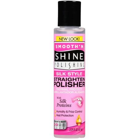 Smooth 'N Shine Polishing Silk Style Straighten Polisher 2.25 fl. oz. Bottle Alagio Silk Obsession Silk
