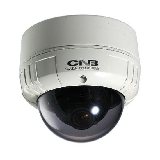 CNB OEM VCB 24VF Dome CCTV Security Camera 580 TVL, Blue-i DSP XWDR, ICR, 3D DNR, DSS, Dual Power, Dual Mount
