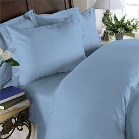 Image of Egyptian Bedding 100% Egyptian Cotton 600 Thread Count 5 Piece Bed Sheet Set