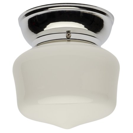 Hampton Sutter Indoor Ceiling Flushmount Light, Polished Chrome ()