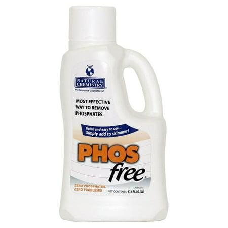 Natural Chemistry 2L PHOSFree Phosphate Remover for Swimming (Best Phosphate Remover For Swimming Pools)