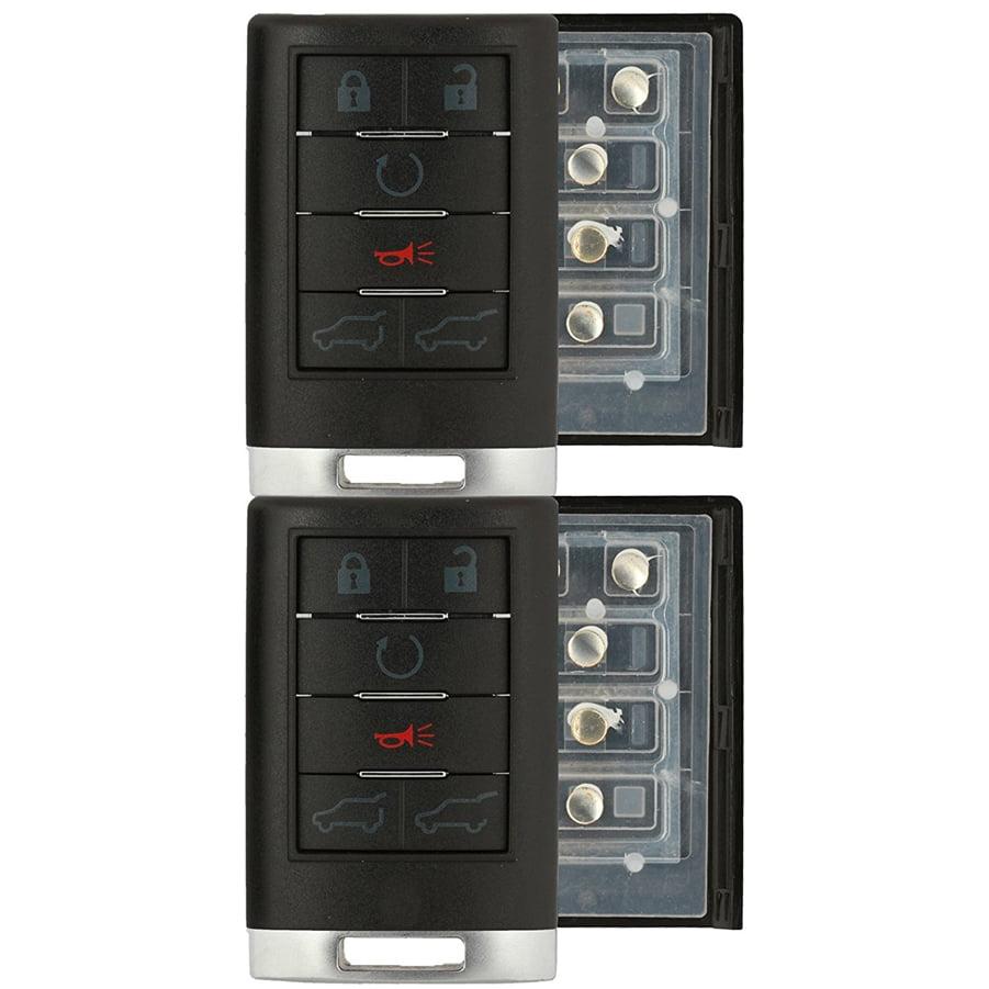OUC6000066 Key Fob fits 2007-2014 Cadillac Escalade Keyless Entry Remote